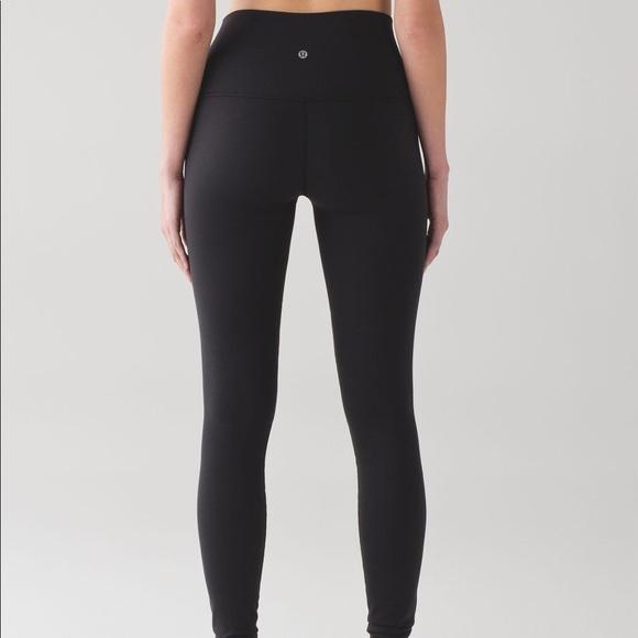 29a124cc8e lululemon athletica Pants | Classic Black Lululemon Leggings | Poshmark